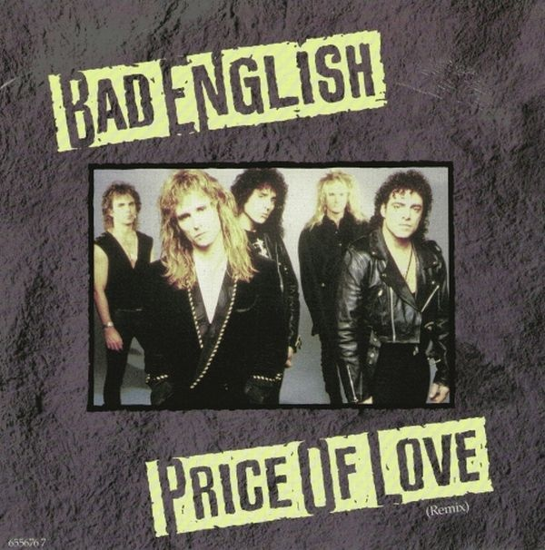 Bad English Price Of Love Vinyl
