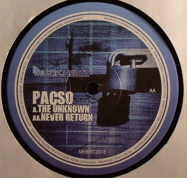 Pacso The Unknown / Never Return Vinyl