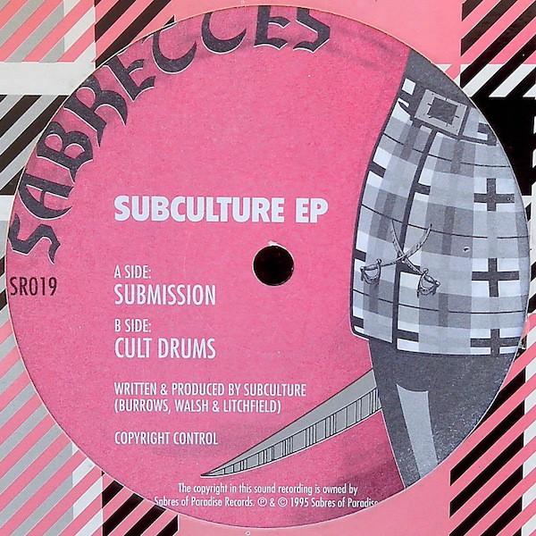 Subculture Subculture EP Vinyl