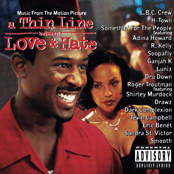 Various A Thin Line Between Love & Hate (Music From The Motion Picture) CD