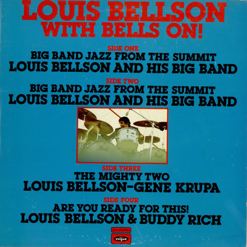 Bellson, Louis With Bells On! Vinyl