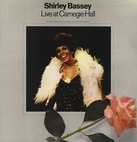 Bassey, Shirley Live At Carnegie Hall Vinyl