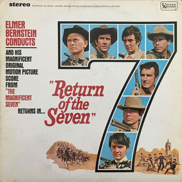 Bernstein, Elmer Return Of The Seven Vinyl
