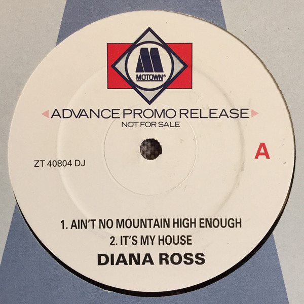 Ross, Diana Ain't No Mountain High Enough (Extended Remix)