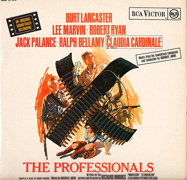 Maurice Jarre The Professionals (Music From The Soundtrack)