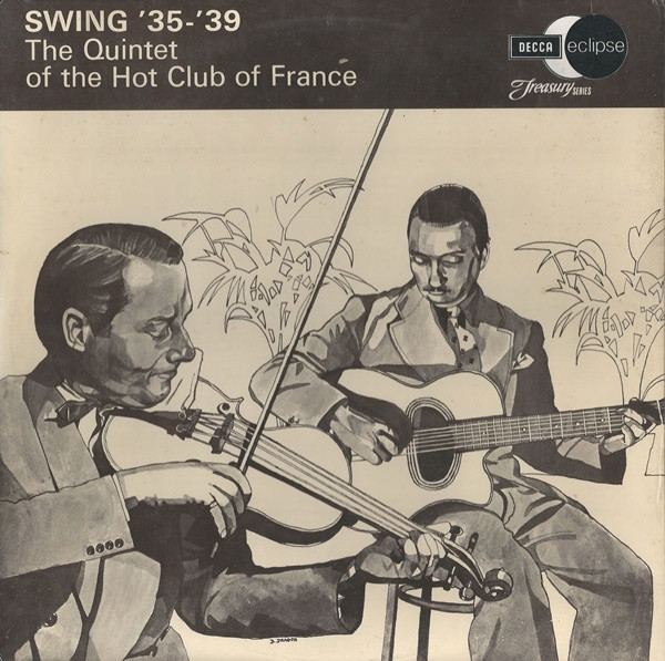 The Quintet Of The Hot Club Of France Swing 35-39