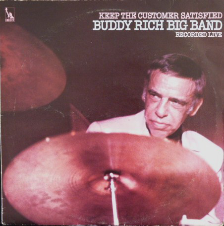 Buddy Rich Big Band Keep The Customer Satisfied Vinyl