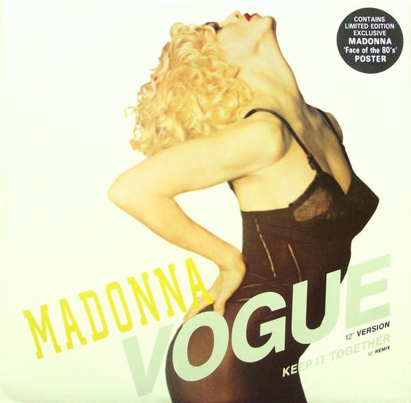Madonna Vogue Vinyl