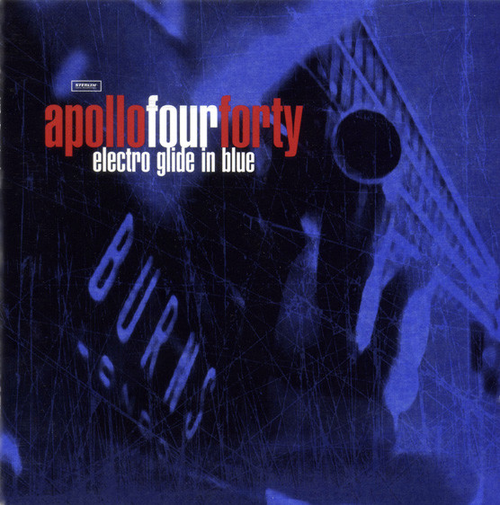 ApolloFourForty Electro Glide In Blue