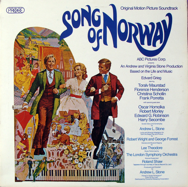 Songs Of Norway Various Vinyl