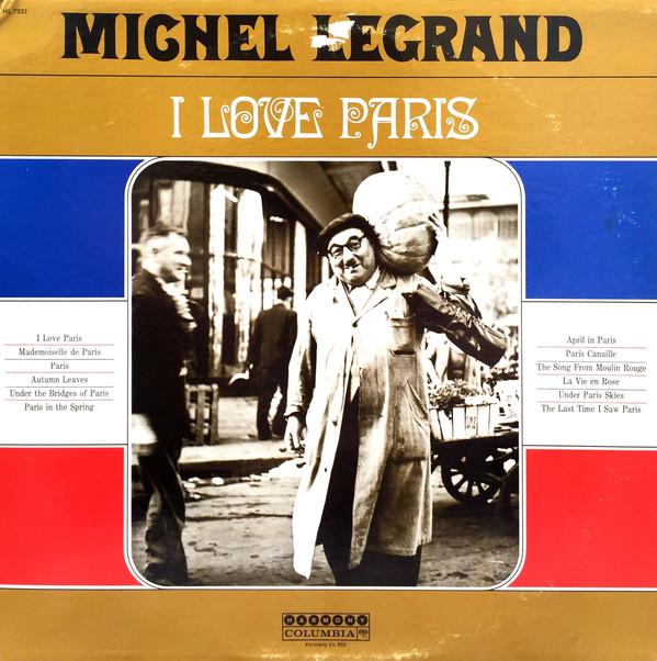 Legrand, Michel I Love Paris Vinyl