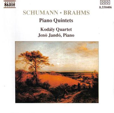 Schumann, Brahms, Jenö Jandó, Kodály Quartet Piano Quintets Vinyl