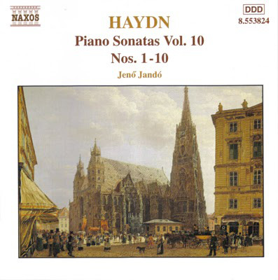 Haydn, Jenö Jando Piano Sonatas, Vol. 10 (Nos. 1 - 10)