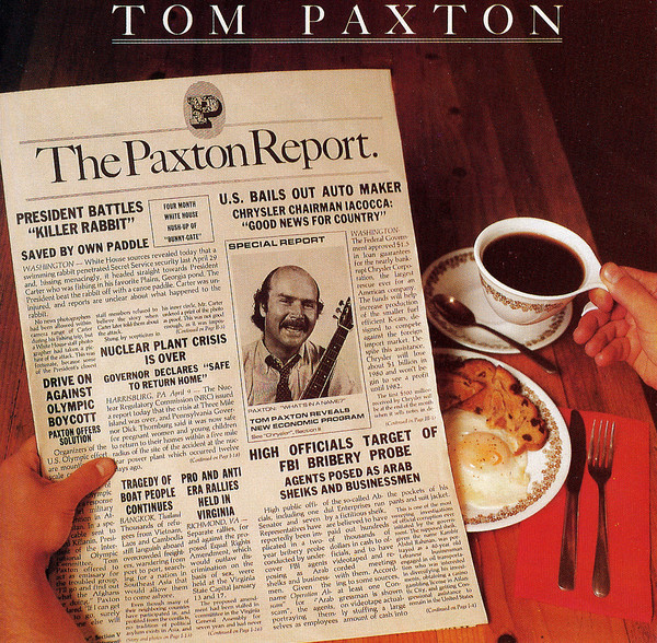 Paxton, Tom The Paxton Report Vinyl