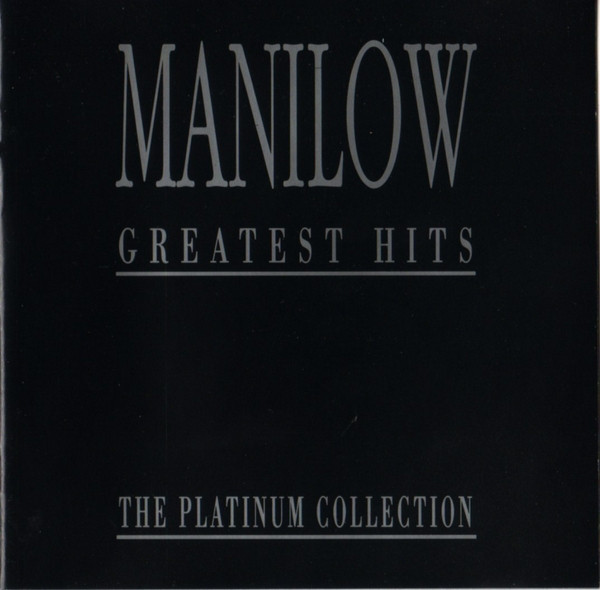 Manilow, Barry Manilow Greatest Hits - The Platinum Collection CD