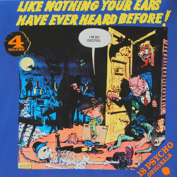 Various Like Nothing Your Ears Have Ever Heard Before! Volume 4 Vinyl