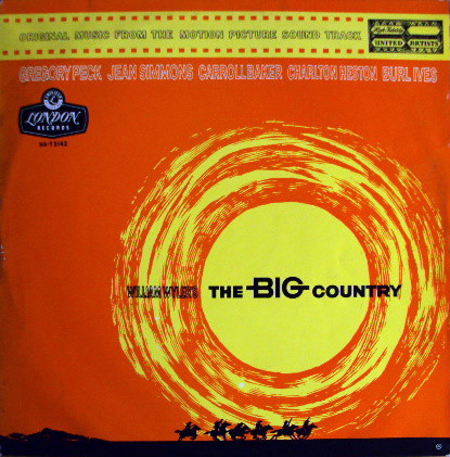 Jerome Moross The Big Country Vinyl