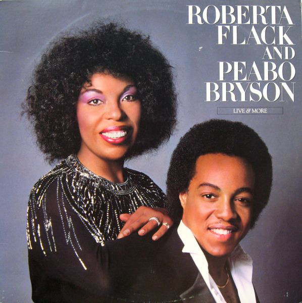 Roberta Flack And Peabo Bryson Live & More Vinyl