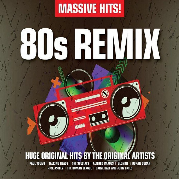 Various Massive Hits! 80s Remix CD