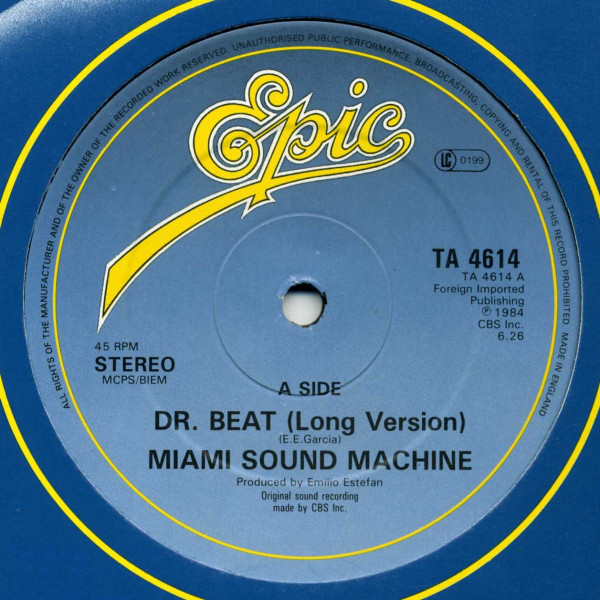Miami Sound Machine Dr. Beat (Long Version)
