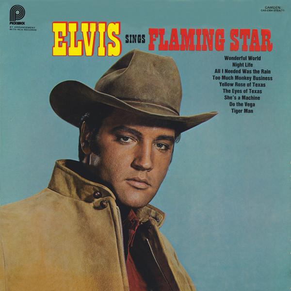 Presley, Elvis Elvis Sings Flaming Star Vinyl