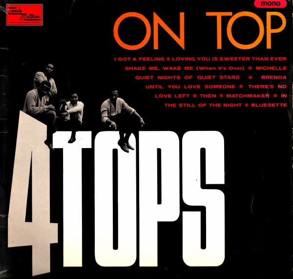 Four Tops Four Tops On Top Vinyl