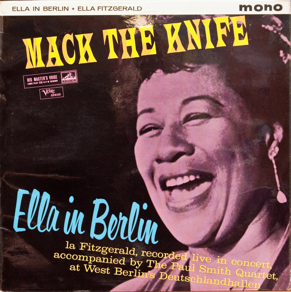 Fitzgerald, Ella Mack The Knife - Ella In Berlin Vinyl