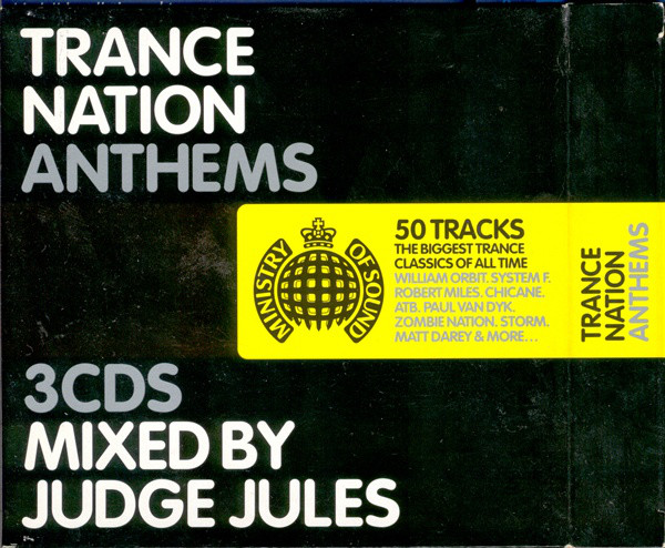Various Trance Nation Anthems CD