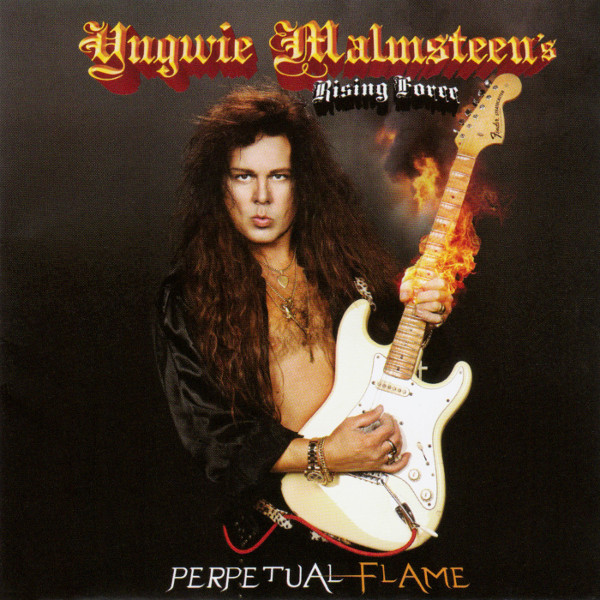 Yngwie Malmsteen's Rising Force Perpetual Flame CD