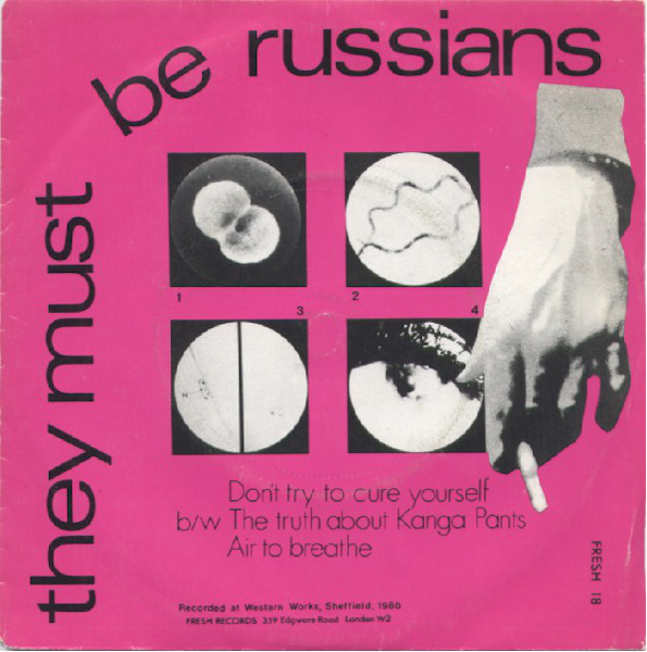 They Must Be Russians Don't Try To Cure Yourself  Vinyl