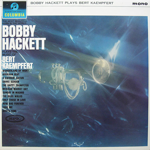 Hackett, Bobby Plays The Music Of Bert Kaempfert  Vinyl