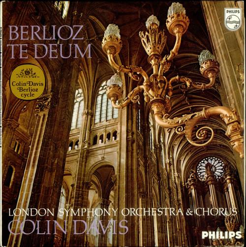 Berlioz - Colin Davis Te Deum Vinyl
