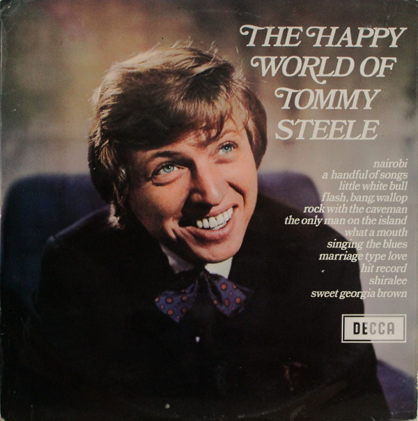 Steele, Tommy The Happy World Of Tommy Steele Vinyl