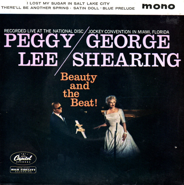 Lee, Peggy and George Shearing Beauty And The Beast Vinyl