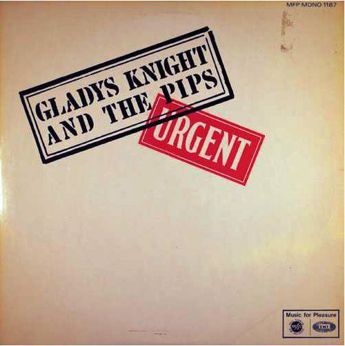 Knight, Gladys & The Pips Urgent Vinyl