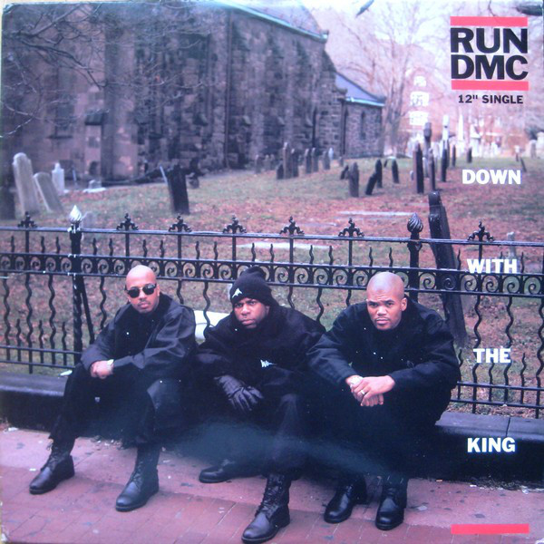 Run DMC Down With The King Vinyl