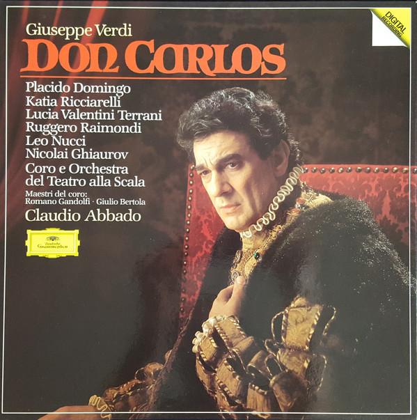 Verdi - Domingo, Ricciarelli, Terrani, Raimondi, Nucci, Ghiaurov, Claudio Abbado Don Carlos Vinyl