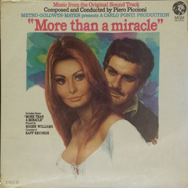 Piero Piccioni More Than A Miracle Vinyl
