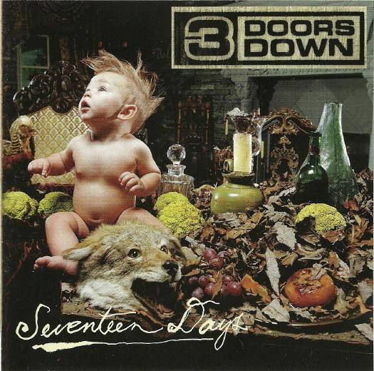 3 Doors Down Seventeen Days Vinyl