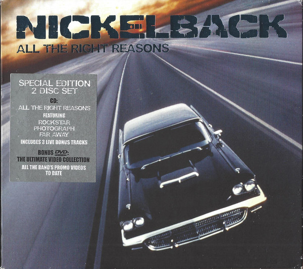 Nickelback All The Right Reasons CD