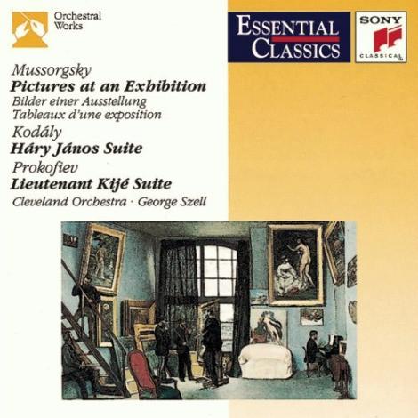 Mussorgsky / Kodály / Prokofiev - Cleveland Orchestra · George Szell Pictures At An Exhibition / Háry János Suite / Lieutenant Kijé Suite