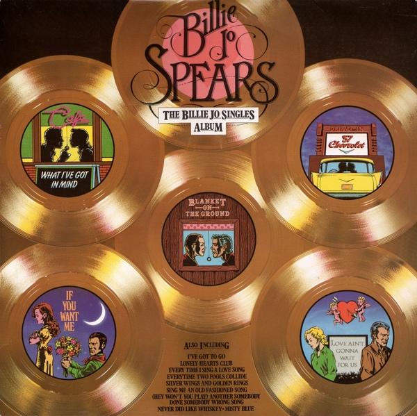 Spears, Billie Jo The Billie Jo Singles Album Vinyl
