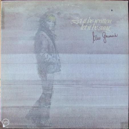 Greenwick, Ellie Let It Be Written, Let It Be Sung... Vinyl