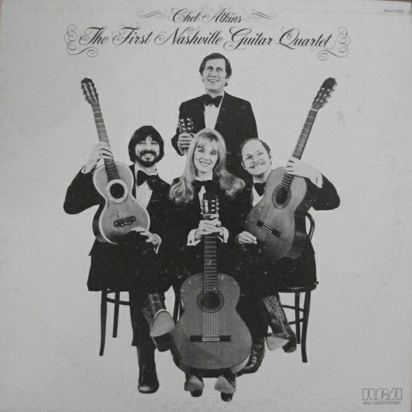 Atkins, Chet The First Nashville Guitar Quartet Vinyl
