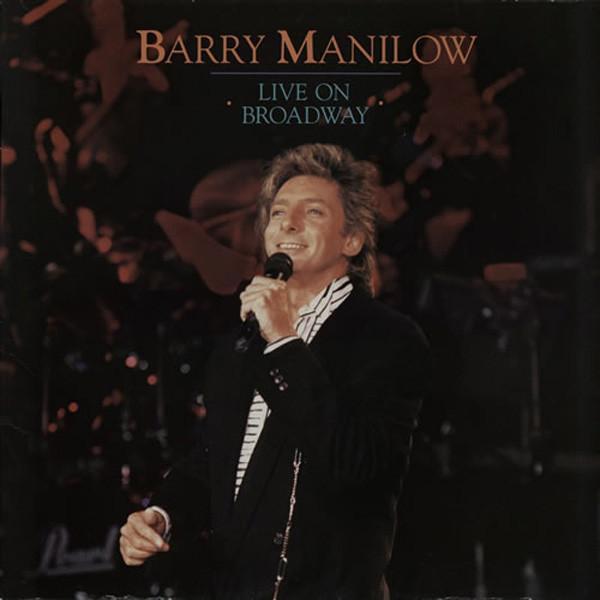 Manilow, Barry Live On Broadway Vinyl