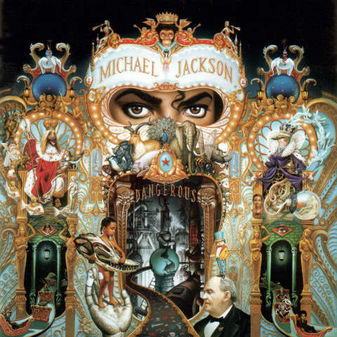 Jackson, Michael Dangerous CD