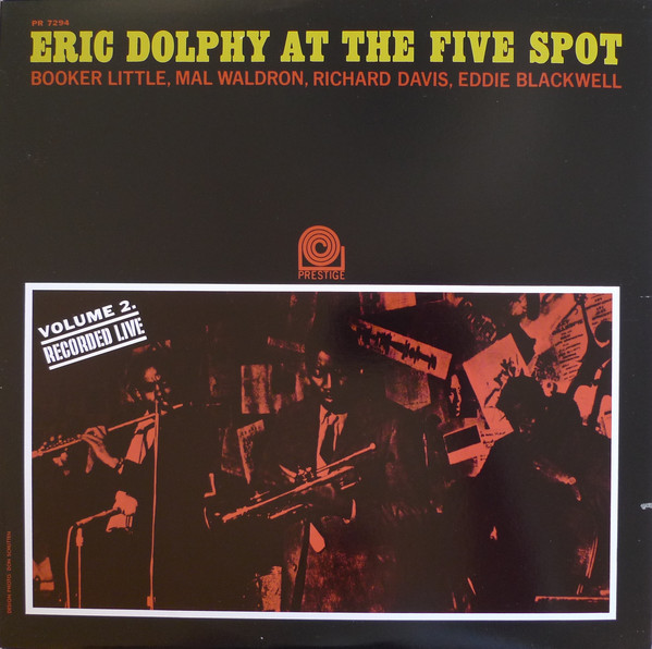 Dolphy, Eric At The Five Spot Volume 2