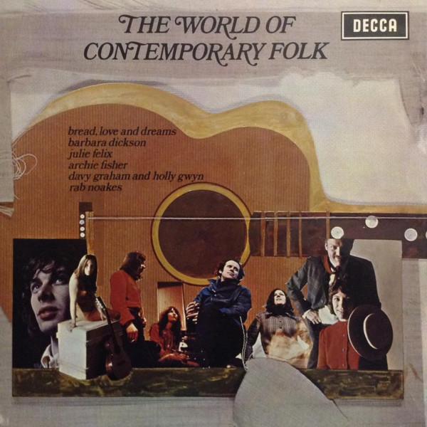 Various The World Of Contemporary Folk Vinyl