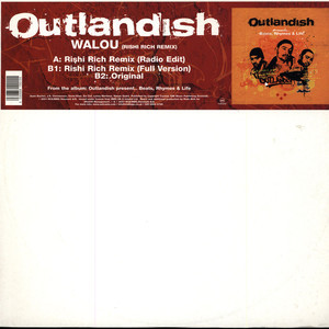 Outlandish Walou (Rishi Rich Remix) Vinyl