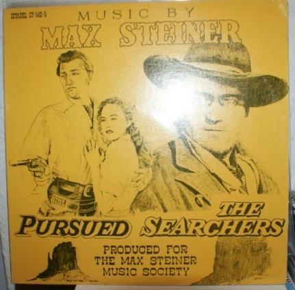 Steiner, Max Pursued / The Searchers Vinyl